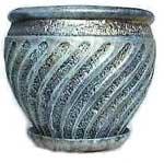 Горшок цветочный глиняный