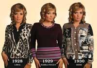 Блузки женские 1928-1930