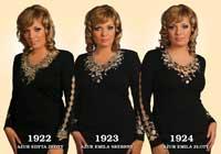 Платья женские 1922-1924