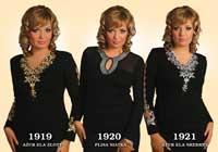 Платья женские 1919-1921