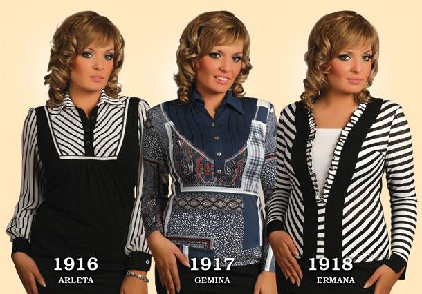 Блузки польские больших размеров
