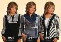 Блузки женские 1916-1918