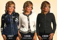Блузки женские 1907-1909