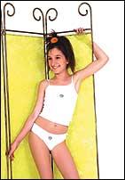 """Майка и трусики для девочки """"G-58 bikini, vest"""""""