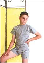 "Белье мальчиковое ""BXT-35 t-shirt, BXB-35 boxer"""