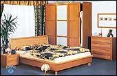 """Мебель для спальни """"Samanta wisnia"""""""